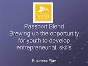 Passport Blend Business Plan 2