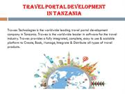 Travel Portal Development in Tanzania