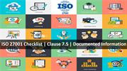 ISO 27001 Checklist - Documented information - clause 7.5
