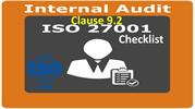 ISO 27001 Checklist - Internal Audit - Clause 9.2