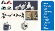 Best Cat Themed Online Gift Store - Crazy Cat Shop