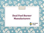 Dual Fuel Burner Manufacturers