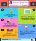 5 Benefits of Natural Light in Headshots Los Angeles