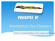 Best Curtain Cleaners Service Provider - Manhattan Dry Cleaners