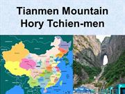 Čína - hory Tchien-men (Tianmen mountains)