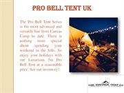 Luxurious Pro Bell Tent UK  The Vintage Tent Company
