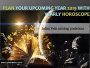 Plan your Upcoming Year 2019 with Yearly Horoscope