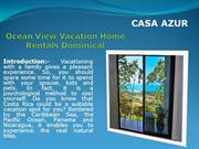 Ocean View Vacation Home Rentals Dominical