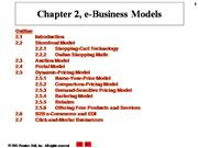 e-Commerce lecture 2