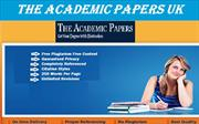 The Academic Papers UK - Get Best Assignment Help