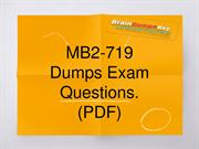Secret to Pass MB2-719 Exam in First Try | MB2-719 Exam Q & A