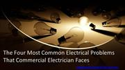 The Four Most Common Electrical Problems