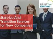 Get a Help of Sirius Solutions for Managing the Start Up Business
