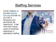 Top Staffing Services - Employment Agencies | Hunter Gibbons