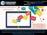 Business Email List |USA Business Emails List |Business Mailing Lists
