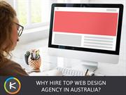 Why Hire Top Web Design Agency in Australia