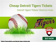 Detroit Tigers Match Tickets with Discount Coupon