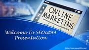 Online Marketing and SEO Service in India