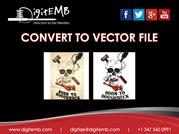 Convert to Vector File