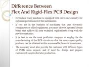 Difference Between Flex And Rigid-Flex PCB Design