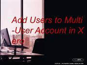 Add Users to Multi-User Account in Xero