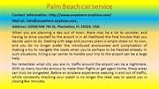 Palm Beach car service