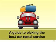 A guide to picking the best car rental service