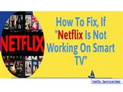 How To Fix Netflix Not Working On Smart TV