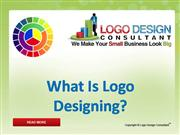 What is Logo Designing