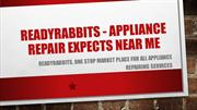 ReadyRabbits - Appliance repair expects near me