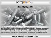 ASTM SPECIFICATION Fasteners