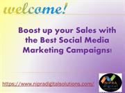 Boost up your Sales with the Best Social Media Marketing Campaigns!