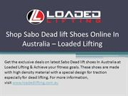 Shop Sabo Deadlift Shoes Online In Australia – Loaded Lifting