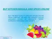 Online Grocery Store | Kitchen Masala and Spices Online