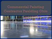 Commercial Painting Contractor Paulding Ohio