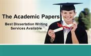 The Academic Papers - Best Dissertation Writing Services Available