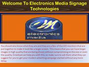 Digital Signage Display Saudi Arabia, Digital Signage UAE - emediast
