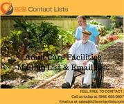 Adult Care Facilities Mailing Lists & Email Lists in usa
