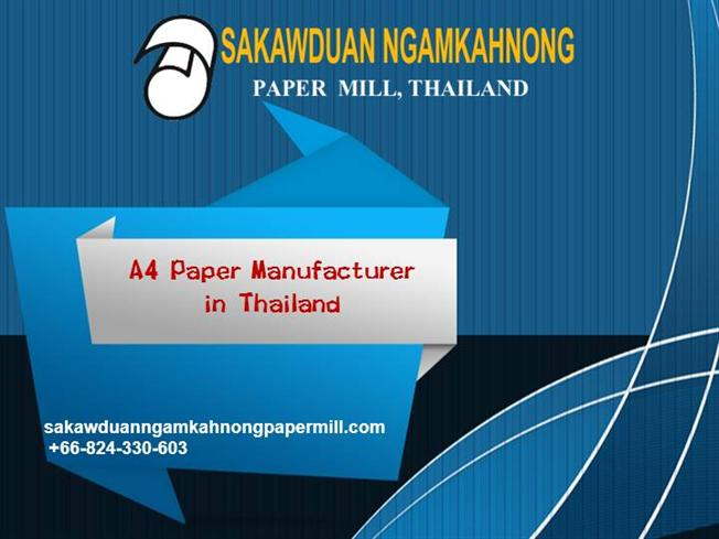 a4 paper factories in thailand ▷▷ a c i