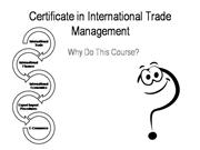 Certificate in International Trade Manag