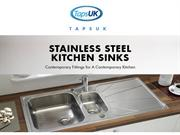 Contemporary Fittings for A Contemporary Kitchen - TapsUK