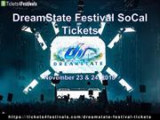 Dreamstate Festival Southern California Tickets with 2018 Lineup