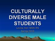 Levina Herr Culture on Male Students