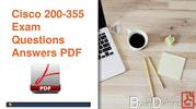 200-355 Dumps PDF - 200-355 Real Practice Questions