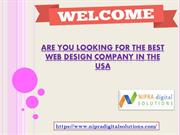 Are you looking for the Best Web Design Company in the USA?