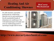 heating and air conditioning shawnee