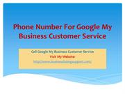 Phone Number For Google My Business Customer Service