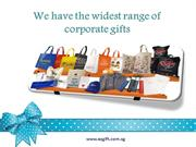 We Have the Widest Range of Corporate Gifts