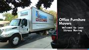 Professional Office Furniture Movers - Less Stress Moving