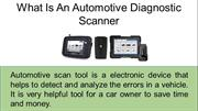 AUTO-I 100 - Multi Car Scanner
